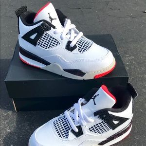 Air Jordan 4 Toddler Shoes NEW